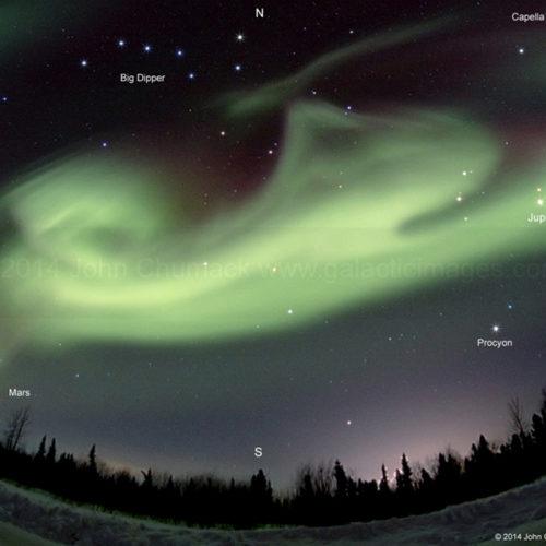 Alaska Aurora Borealis Photo #8676