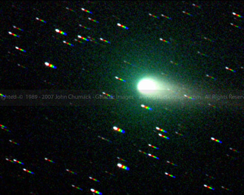 Comet Linear Photos C/2002 T7