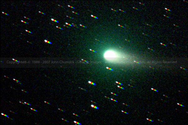 Comet Linear Photos C/2002 T7