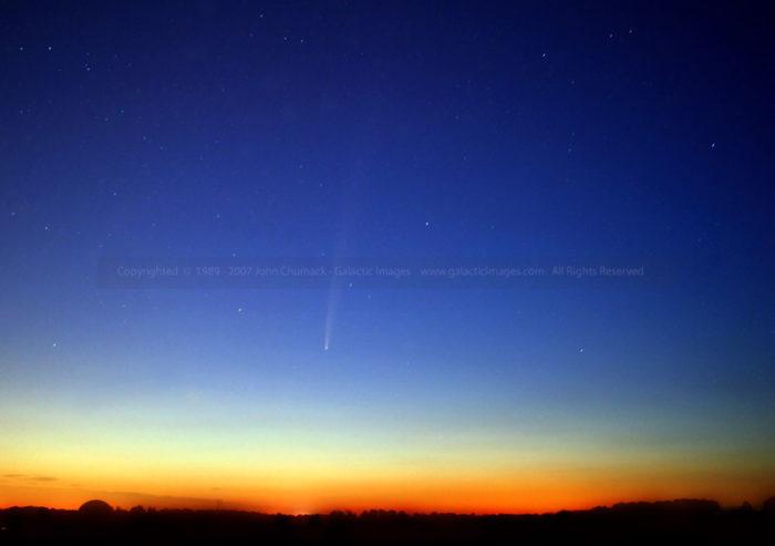 Comet Bradfield photos