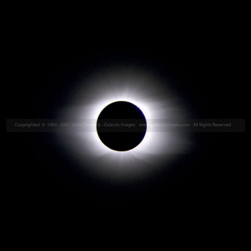 1998 Solar Eclipse Photos - Totality
