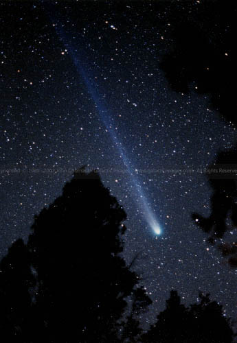 Comet Hyakutake photos Adams county
