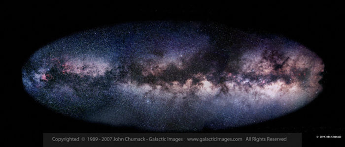 Milky Way Galaxy Photos - Summer  Panorama