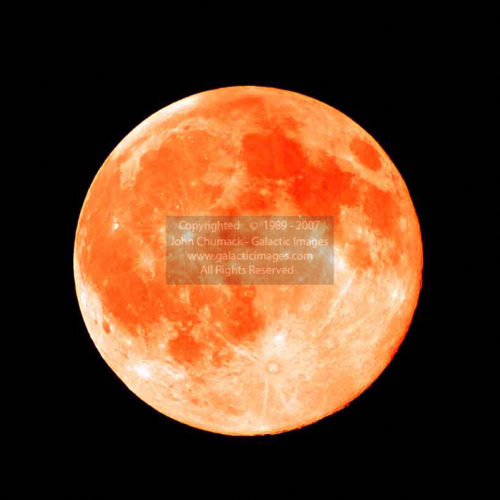 Orange Full Moon Photos
