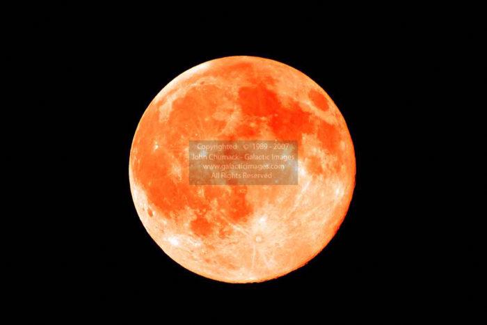 Orange Full Moon Photos