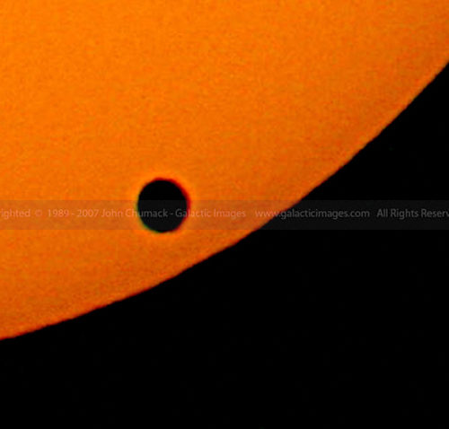 Venus Transit 2004 Closeup Photos