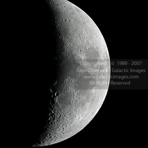Waxing Crescent Moon Photos